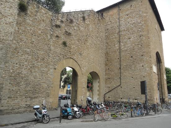 From the gate picture of porta romana florence - Porta romana florence ...