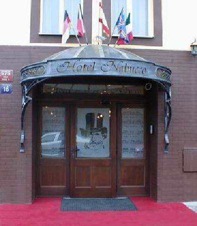 Hotel Nabucco: main door