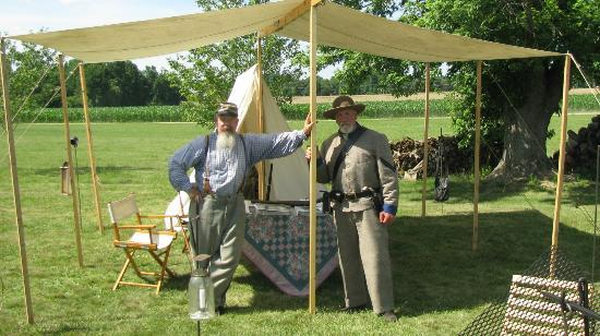 Bryantown, Мэриленд: Some of the Confederate Reenactors