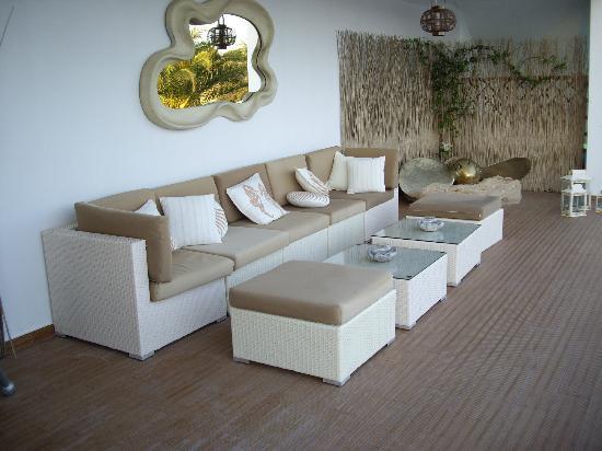 Skiathos Premier Hotel: seating area
