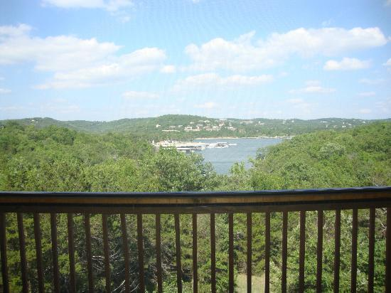 Village At Indian Point: Off the deck (screened in) Lodge 17, Unit 5