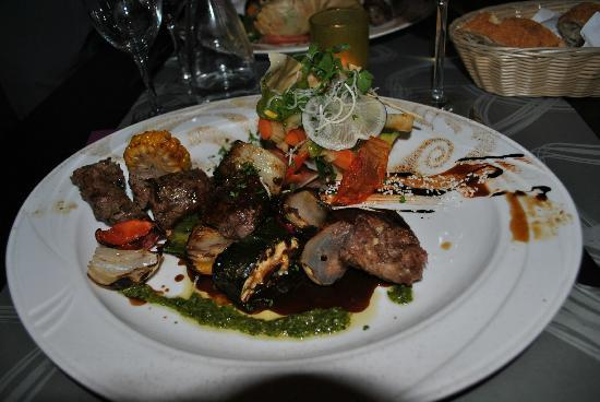 Restaurant Grimougi : Brochette de filet de Boeuf