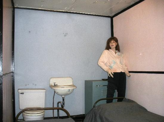 Women's Cell at the Old Jail Museum