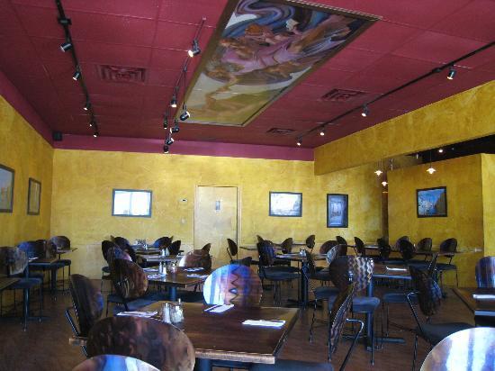 Pizzeria Espiritu: Notice the ceiling