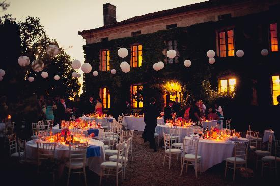 Manoir de Longeveau: Reception - dusk