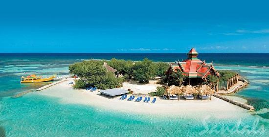 Sandals Caribbean Picture At Of Offshore Island Royal K1FJlc