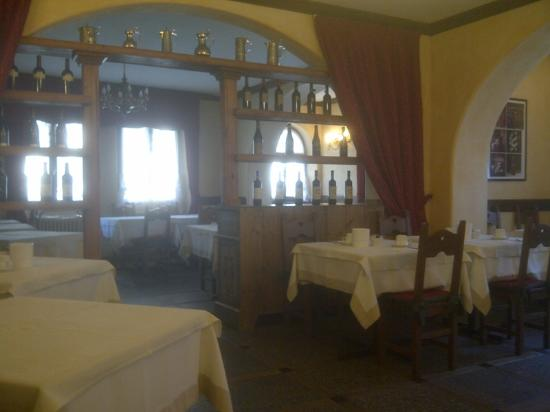 Hotel Courmayeur : Breakfast Room