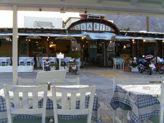 Aquarius : The main restaurant
