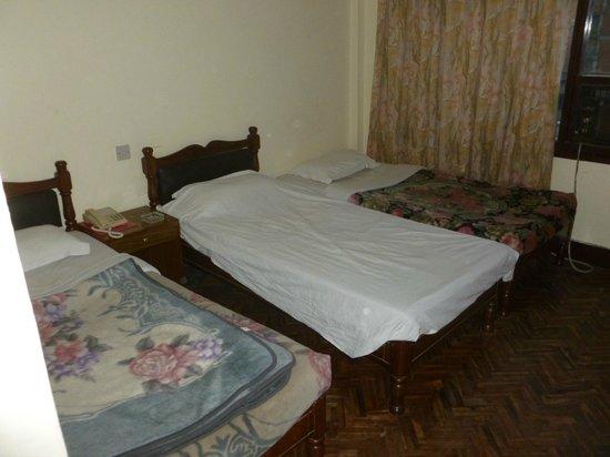 Hotel Thamel: Camera tripla