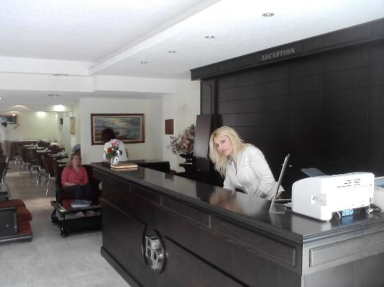 Elinotel Polis Hotel: Ρεσεψιόν σοφία