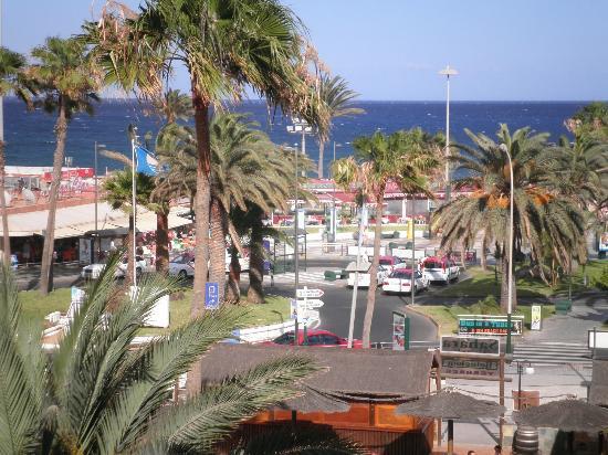 Sahara Playa : panorama dal balcone della camera
