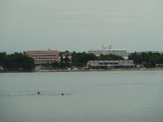 Hotel Miramare: Hotel from the sea