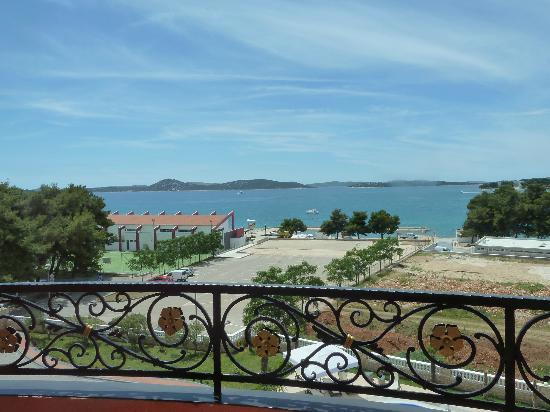 Hotel Miramare: View from the balcony