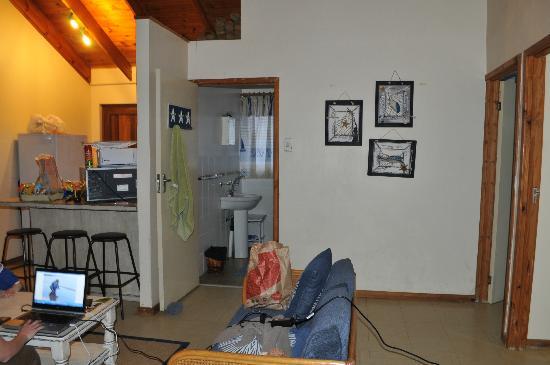 Lai-La Log Cabins : Inside the cabin