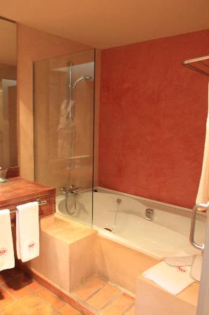 Mas Salvi Hotel: Baño