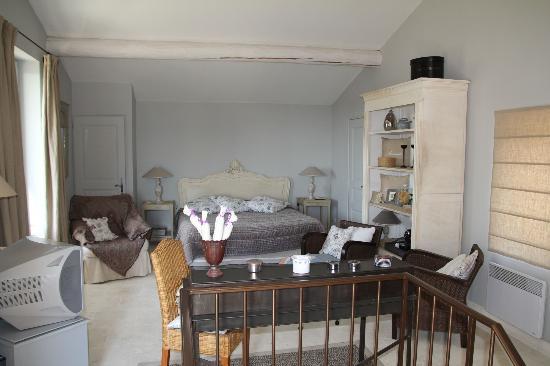 La Borie : Das Schlafzimmer