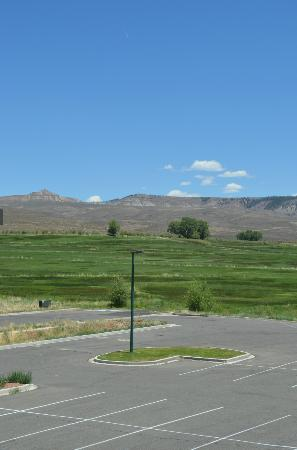 Holiday Inn Express & Suites - Gunnison: View from room 215