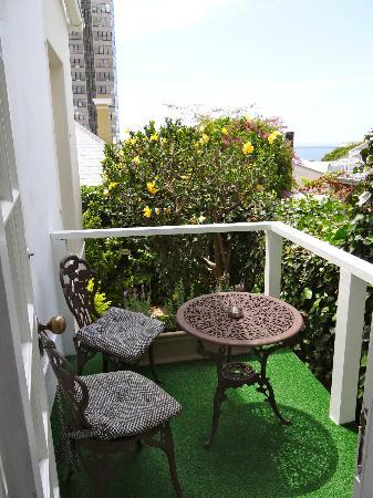 Blackheath Lodge : our little porch - perfect for us 2