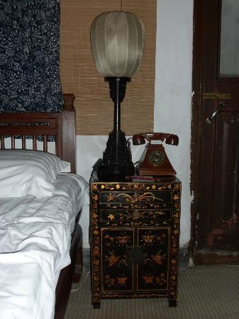 Pingjiang Lodge: The bedside table
