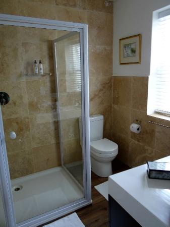 Blackheath Lodge : our bathroom with a great big shower