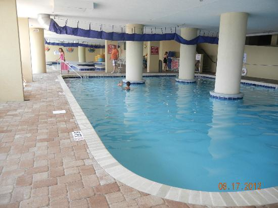 Grand Atlantic Ocean Resort: indoor pool and lazy river