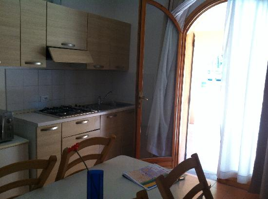 Lido degli Estensi, Italia: Cucina bungalow Marina