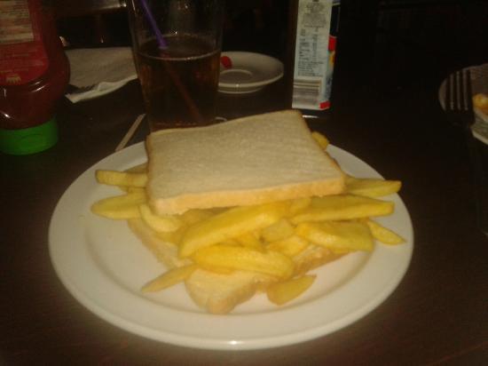 Pub Eureka corner : That's what i call a Chip Butty!