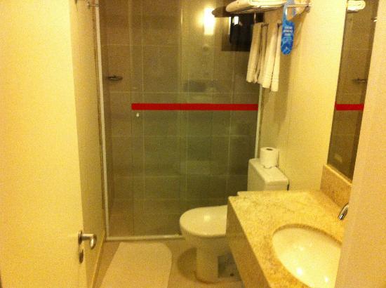 St. Paul Plaza Hotel: Banheiro velho