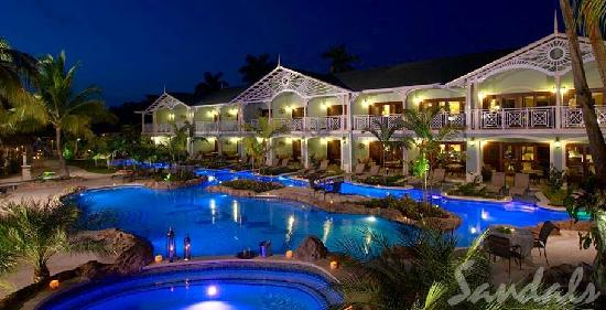 Sandals Negril Beach Resort Spa Poolview At