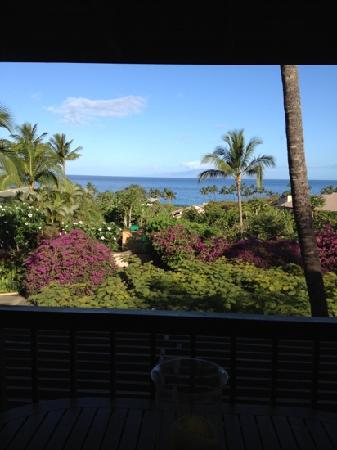 Wailea Ekahi Village: from our lanai