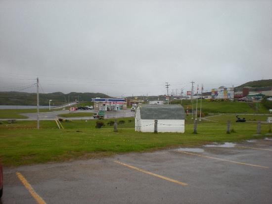 Hotel Port aux Basques: View from front of hotel.