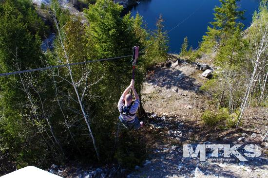 Great Canadian Bungee: The RipRide Cable Slide