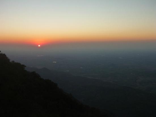 Sunset Point Mount Abu : Sunset at Sunset Point, Mt Abu