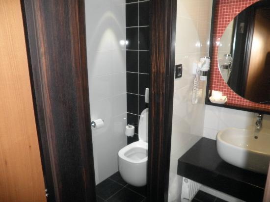 Belvedere Hotel: Baño nuevo y luminoso