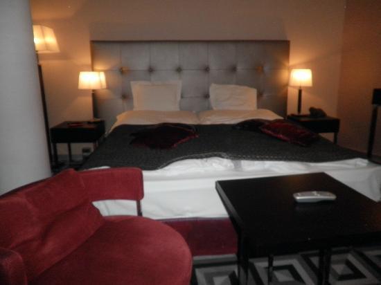 Belvedere Hotel: Habitación bien amueblada