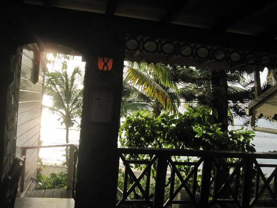Sugar Mill Hotel: View from Dining Room