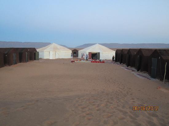 Tinfou Dunes: Traditional Berber Camp