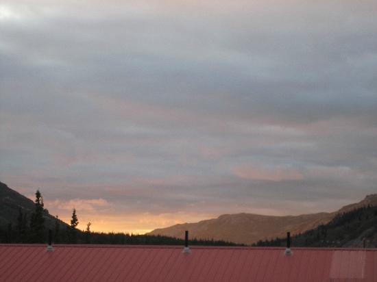 Denali Princess Wilderness Lodge: Sunset