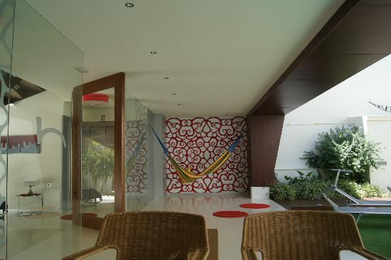 Hotel Boutique Alcoba: Porche