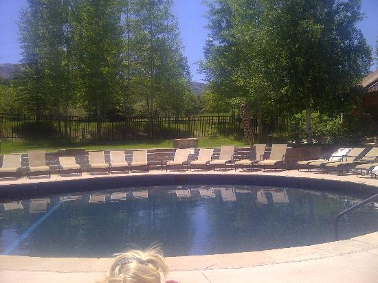The Villas at Snowmass Club : One of 3 pools, adult pool