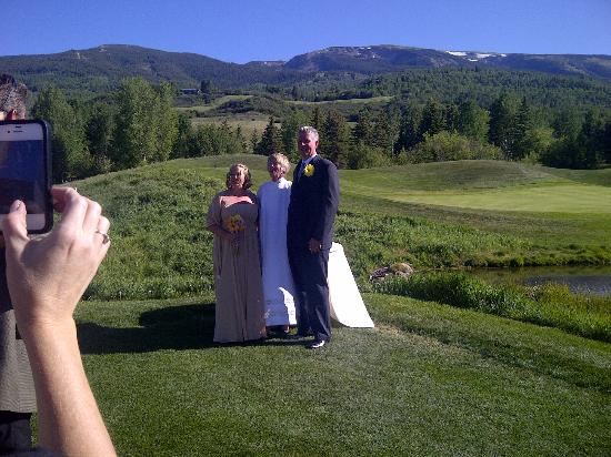 The Villas at Snowmass Club : Wedding at Snowmass Club