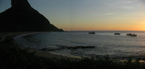 Conceicao Beach: Conceição Beach at Sunset