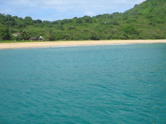 Conceicao Beach: Conceição Beach - boat view
