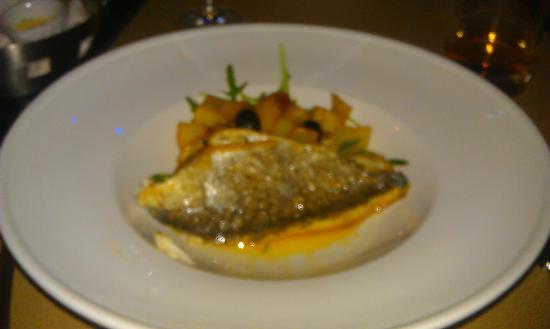 Bistro des Z'Artes: fish course