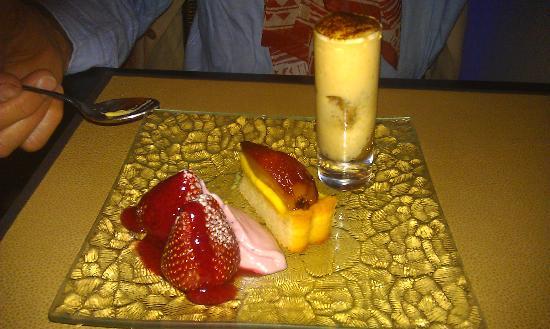 Bistro des Z'Artes: dessert