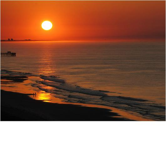 Marriott's OceanWatch Villas at Grande Dunes: Amazing Sun Rises!