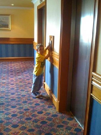 Carnoustie Golf Course Hotel : me when I was 6 at golf hotel