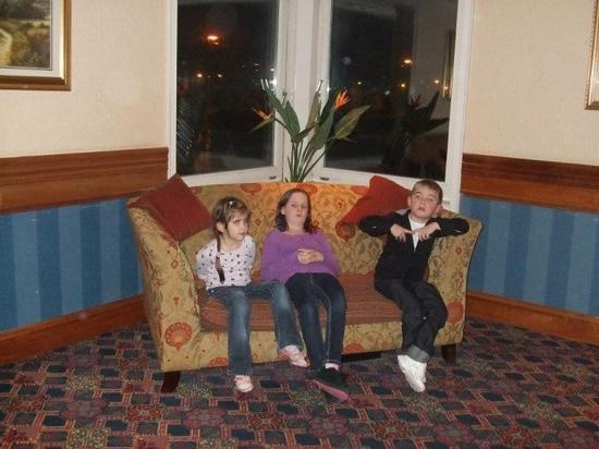 Carnoustie Golf Course Hotel: me & my cousins