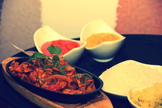 Royal Spice Indian Restaurant: An array of dishes waiting to be served