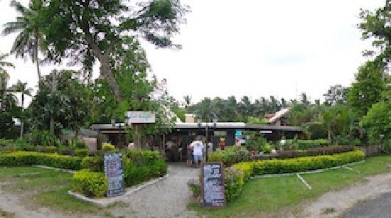 Le Cafe Fiji: Le Cafe's Entrance
